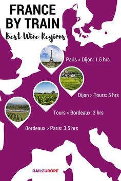Ever dreamed of traveling through the wine regions of France? This is the perfect itinerary for a #France Rail Pass!