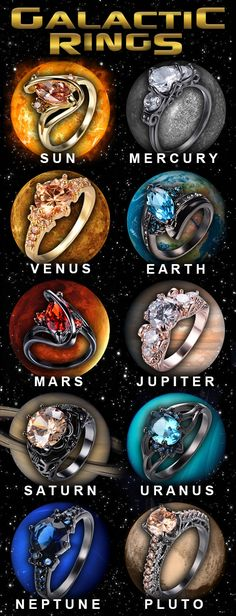 SOLAR System Rings! Which do you want?