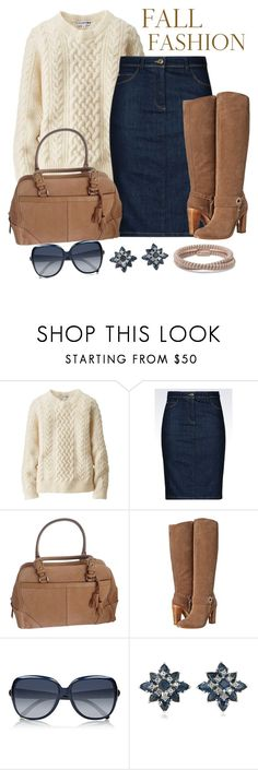 """""""Untitled #1242"""" by gallant81 ❤ liked on Polyvore featuring Uniqlo, Armani Jeans, Coach, Donald J Pliner, Chloé, Carolee and Carolina Bucci"""