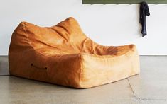 Ultimate bean bag The Rouseabout - LifeSpaceJourney - black bags on sale, online bags, sale bags *ad Leather Bean Bag Chair, Leather Sofa, Tan Leather, Home Furniture, Furniture Design, Office Chairs Online, Wooden Dining Room Chairs, Dining Chair, Living Comedor