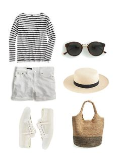 Travel Light / What to pack for Summer in Greece Travel Outfit Summer, Summer Outfits, Travel Outfits, Europe Outfits, Summer Clothes, Greece Outfit, What To Pack, Summer Hats, What To Wear