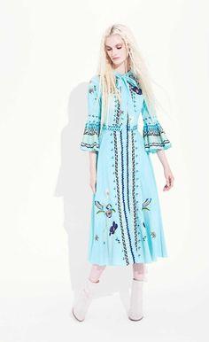Temperley London Spring '17 Amity Necktie Dress