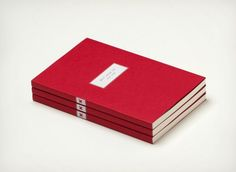 Famous Red Notebook by Best Made Company (set of 3)