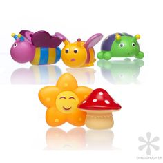As cute as it gets...   Water squiters from Star & Rose, find them on www.opal-london.dk