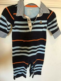 Generous Zutano Brand Infant Boy Truck Jumper Top Size 3 Months Excellent Condition Clothing, Shoes & Accessories