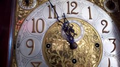 Now on YouTube. Antique Colonial Grandfather Clock c. 1911