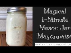 You either LOVE or hate mayonnaise. I personally LOVE it. I can probably thank my dad for this. I grew up eating mayo sandwiches (I know… not good), mayo in my peas from our garde… Homemade Sour Cream, Homemade Butter, Homemade Soup, Keto Mayonnaise Recipe, Homemade Mayonnaise, Protein Shake Recipes, Protein Smoothies, Fruit Smoothies, Healthy Snacks For Kids
