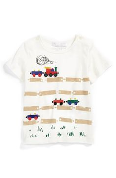 Burberry T-Shirt (Baby Boys) available at #Nordstrom