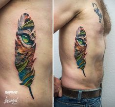 You might have heard of double exposure photography, which is when two images are superimposed to create a single image, but what about double exposure tattoos? Andrey Lukovnikov/Facebook Polish tattoo artist Andrey Lukovnikov specialises in the unique tattoo