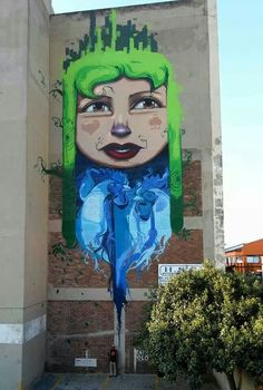 for The City of Gold 2014. Artist: Falko One in Johannesburg , South Africa