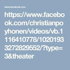 https://www.facebook.com/christianpoyhonen/videos/vb.1116410778/10201933272829552/?type=3&theater