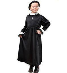 7fe6ef94fe6b2 134cm Black Girls Queen Victoria Costume Costume Dress