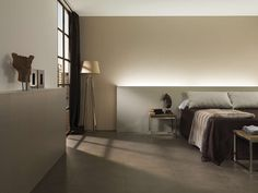 """Light porcelain. This new porcelain tile by URBATEK is characterised by its extra-large format and minimum thickness.On brown nature"""" 24"""" square"""