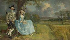 Thomas Gainsborough: 'Mr and Mrs Andrews'