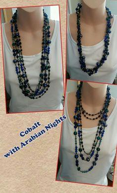 Cobalt with Arabian Nights from Premier Designs Jewelry Premier Designs Jewelry Collection ShawnaWatson.MyPremierDesigns.com access code: bling