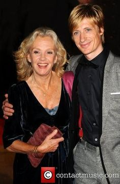 Hayley Mills and son Crispian
