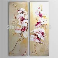 Resultado de imagen para pintura flores oleo