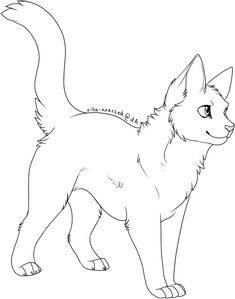 21 best warrior cat coloring pages images | cat coloring