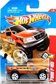 "1997-2004 Ford F-150 Hot Wheels 2012 Thrill Racers-Beach ""Hot Wheels Surf Shop"""