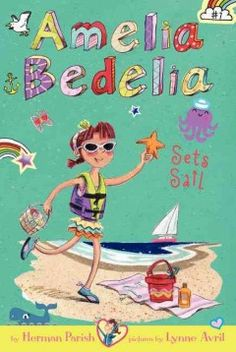 J FIC PAR. Amelia Bedelia and her mother share a summer vacation home at the shore with her aunt Mary and her cousin Jason, who has a wicked sense of adventure and a nose for trouble.