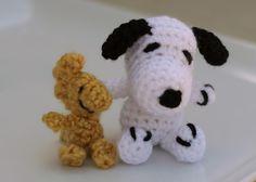 Woodstock ~ Free Crochet Pattern ~ Peanuts