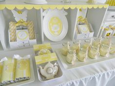 Bright Yellow and White 12th Birthday Party | A Blissful Nest