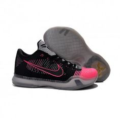 18c8d350b3b The cheap Authentic Nike Kobe 10 Elite Low  Mambacurial  Black Black-Wolf  Grey-Pink Flash Shoes factory store are awesome pair of shoes but it seems  the ...