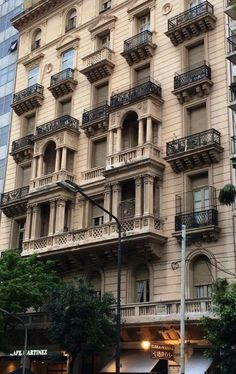 Building in Buenos Aires. Argentina