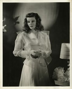 Katharine Hepburn por Clarence Sinclair Bull. Corresponden al rodaje de Historias de Filadelfia (The Philadelphia Story, 1940), de George Cukor.
