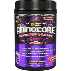 AllMax AminoCore BCAA 1000 грама верижно разклонени аминокиселини