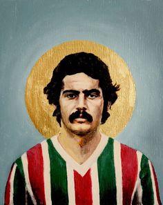 Rivelino of Fluminense of Brazil wallpaper.