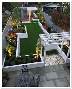 34 easy and affordable diy backyard ideas and projects 32 - Modern garden design, Backyard landscaping designs, Backyard garden design, Backyard patio, Backyar - Backyard Patio Designs, Small Backyard Landscaping, Backyard Ideas, Landscaping Ideas, Terrace Ideas, Backyard Projects, Pergola Ideas, Garden Ideas On A Budget, Shade Landscaping