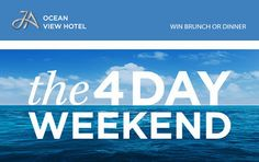 Win Brunch or Dinner with Ocean View Hotel - The Walk