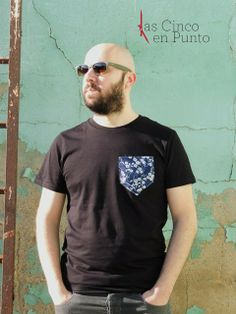 Camiseta Blues http://lascincoenpunto.com/camiseta-blues/