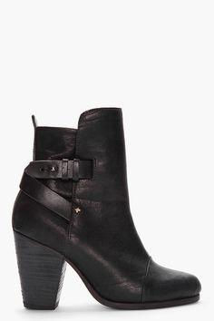 RAG & BONE black Kinsey Boots