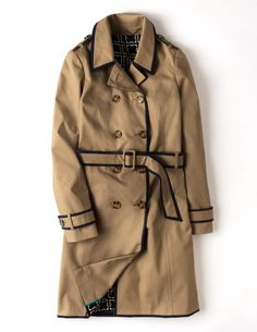 Spring Trench WE431 Coats at Boden