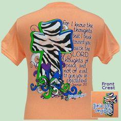 Girlie Girl t-shirt, Jeremiah 29:11 | eBay