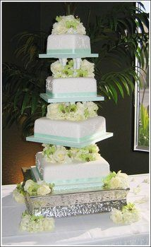 Wedding, Cake, Green, Sweet traders - Photo by Sweet Traders