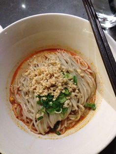 Din Tai Fung noodles with sesame sauce. Yummy!