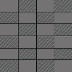 Giugiaro Dark Grey   Mosaic 12x12