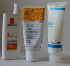 Different Moisturizing Creams that I like this summer