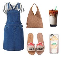 """""""lazy day on the hot day"""" by anastasia-sutawijaya on Polyvore featuring Splendid, Miss Selfridge, Kate Spade, INZI and Casetify"""