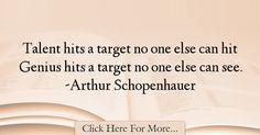 Arthur Schopenhauer Quotes About intelligence - 38255