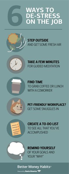 anxiety hustle Having a new job can get a little stressful. Luckily, there are lots of easy ways to de-stress while clocking in. (And getting that new paycheck doesnt hurt either. New Career, Career Advice, New Job, Career Change, Life Advice, Anxiety Relief, Stress Relief, Stress Free, Entrepreneur