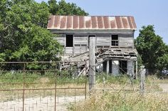 Corn Hill Texas  - old house