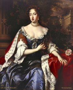 1686-1687 Mary II, when Princess of Orange by Willem Wissing