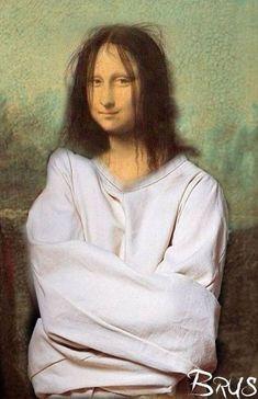 Aesthetic Art, Aesthetic Pictures, Lisa Gherardini, Mona Lisa Drawing, Bd Pop Art, Arte Van Gogh, Mona Lisa Smile, La Madone, Mona Lisa Parody