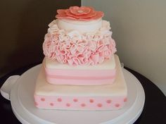 Love this pink cake!