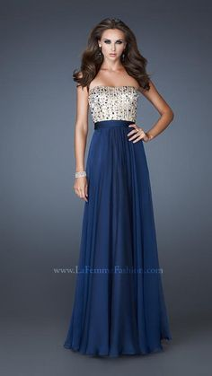 La Femme 18801   La Femme Fashion 2013 - La Femme Prom Dresses