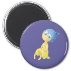 It's a Great Day! 2 Inch Round Magnet | Disney Pixar Inside Out Movie